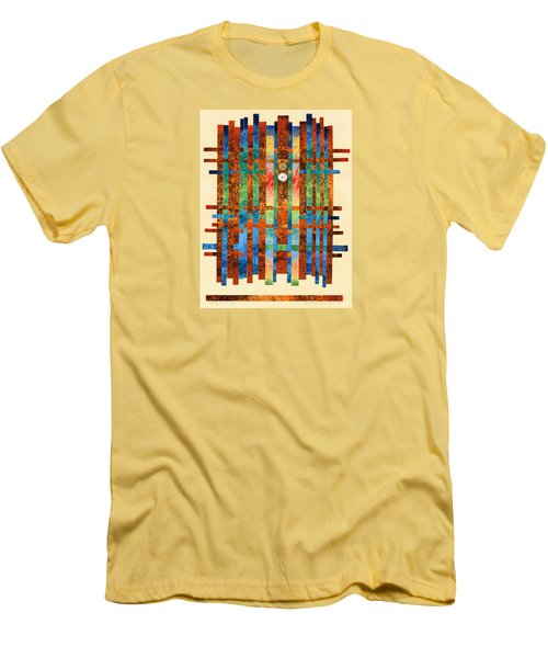 Entering The Temple Men's T-Shirt (Slim Fit) by Lynda Hoffman-Snodgrass