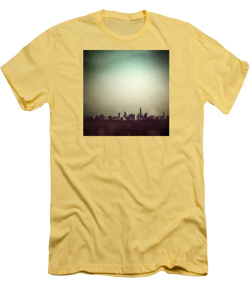 Escaping The City Men's T-Shirt (Slim Fit) by Trish Mistric