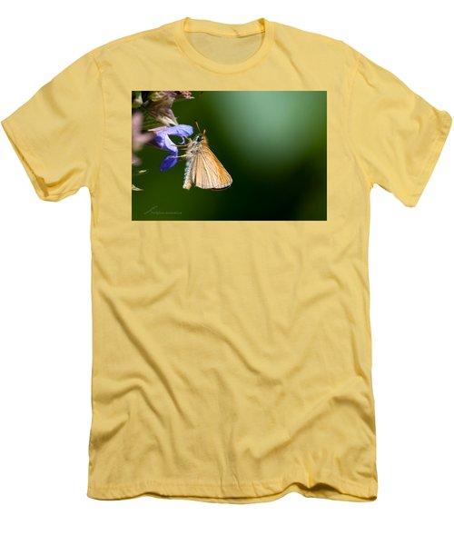 European Skipper Men's T-Shirt (Slim Fit) by Torbjorn Swenelius
