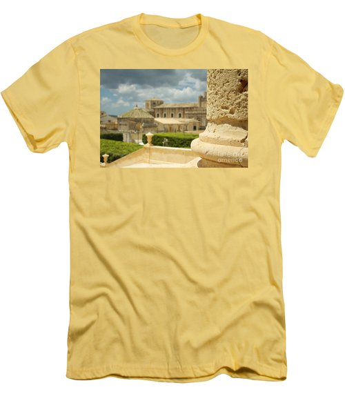 Even Out Of Focus There Is Beauty Men's T-Shirt (Athletic Fit)