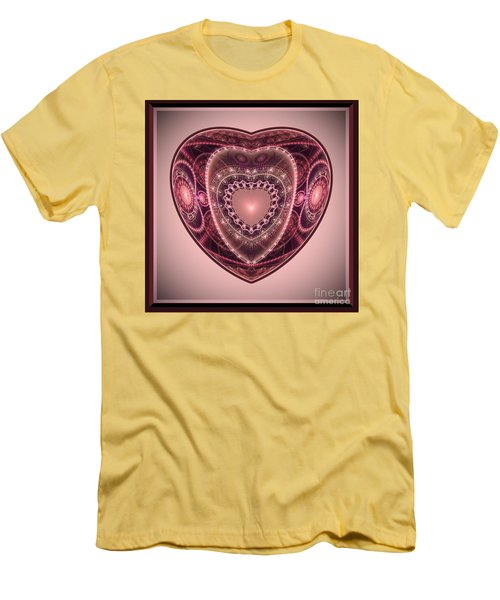 Faberge Heart Men's T-Shirt (Athletic Fit)