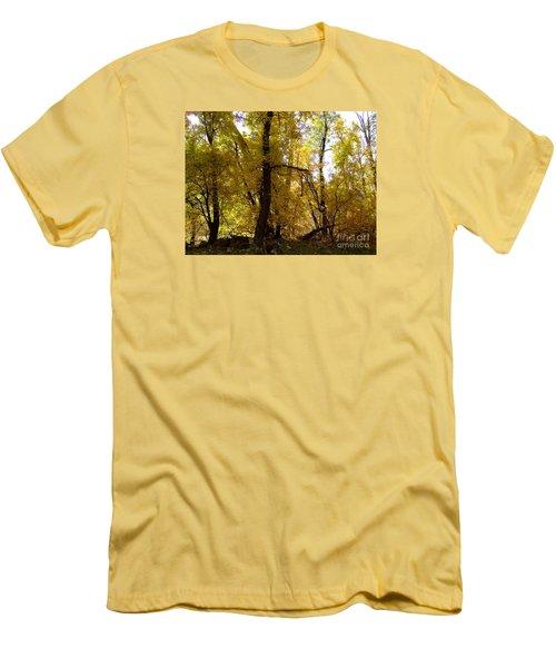 Fall Colors 6169 Men's T-Shirt (Slim Fit) by En-Chuen Soo