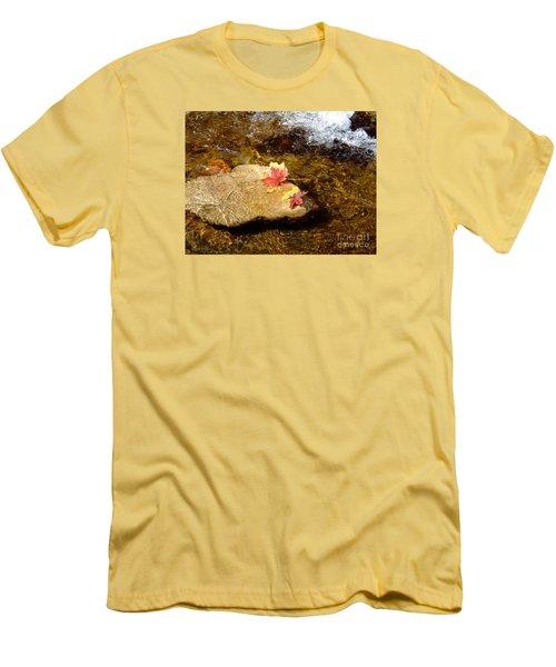 Fall Colors 6348 Men's T-Shirt (Slim Fit) by En-Chuen Soo