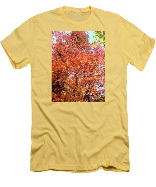 Fall Colors 6357 Men's T-Shirt (Slim Fit) by En-Chuen Soo
