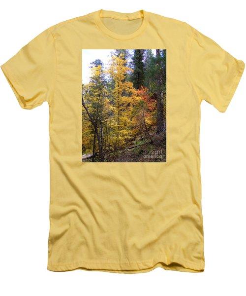 Fall Colors 6368 Men's T-Shirt (Slim Fit) by En-Chuen Soo
