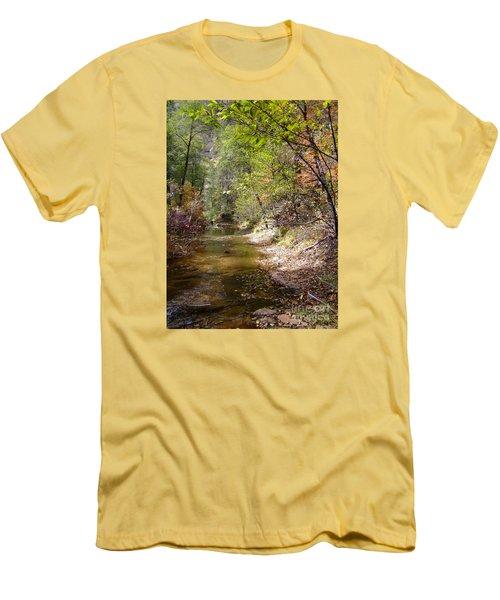 Fall Colors 6379 Men's T-Shirt (Slim Fit) by En-Chuen Soo