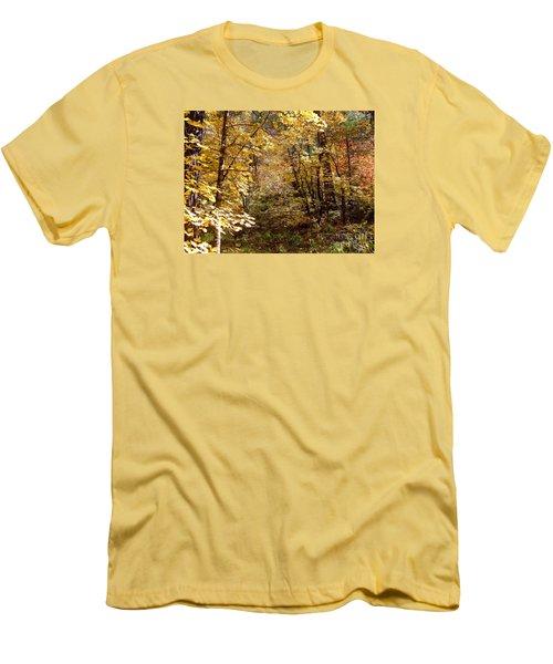 Fall Colors 6405 Men's T-Shirt (Slim Fit) by En-Chuen Soo
