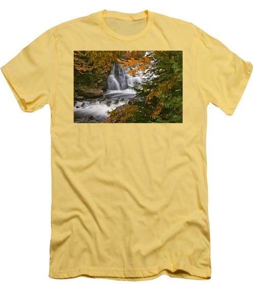 Fall In Fall - Chute Au Rats Men's T-Shirt (Athletic Fit)