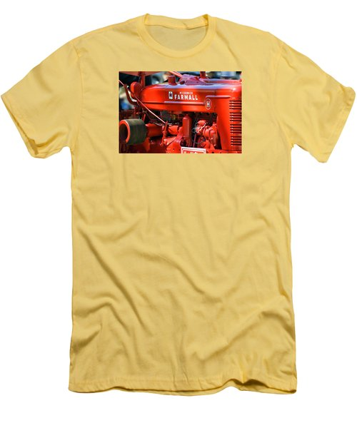 Farm Tractor 11 Men's T-Shirt (Slim Fit) by Thomas Woolworth