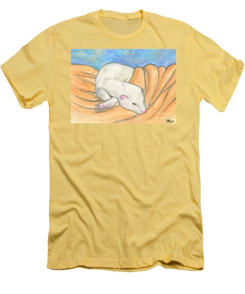 Ferret's Favorite Blanket Men's T-Shirt (Athletic Fit)