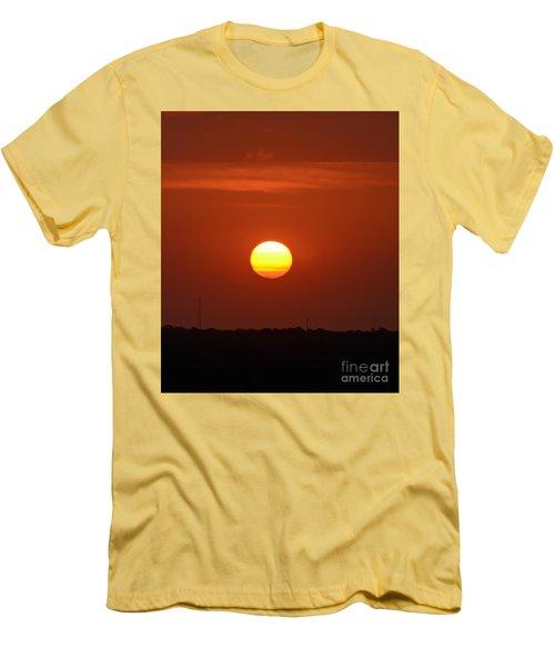 Fire In The Sky Men's T-Shirt (Slim Fit) by Kerri Farley