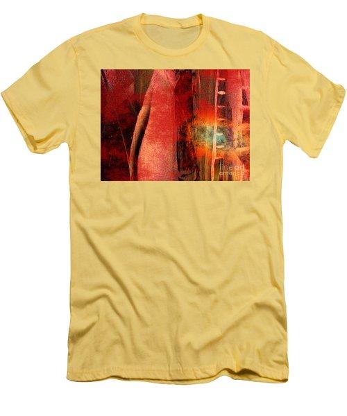 Firefall  Men's T-Shirt (Slim Fit) by Yul Olaivar