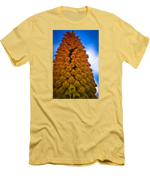 Men's T-Shirt (Slim Fit) featuring the photograph Firepoker by Joel Loftus