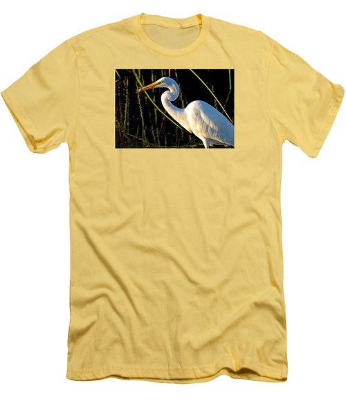 Fishing Trip Men's T-Shirt (Slim Fit) by Duncan Selby