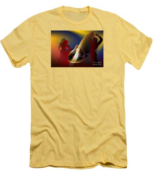 Flamenco Men's T-Shirt (Athletic Fit)