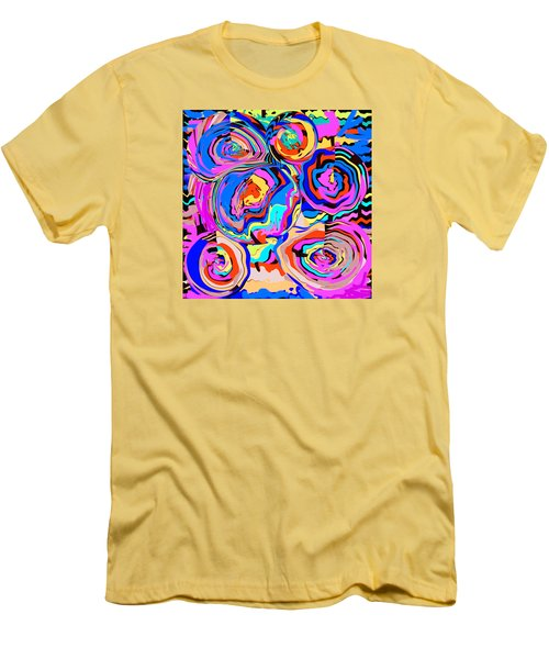 Abstract Art Painting #2 Men's T-Shirt (Athletic Fit)