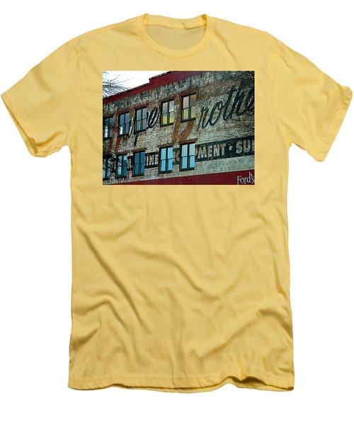 Fords Restaurant In Greenville Sc Men's T-Shirt (Slim Fit) by Kathy Barney