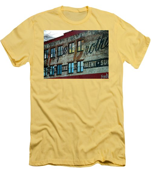 Fords Restaurant In Greenville Sc Men's T-Shirt (Athletic Fit)
