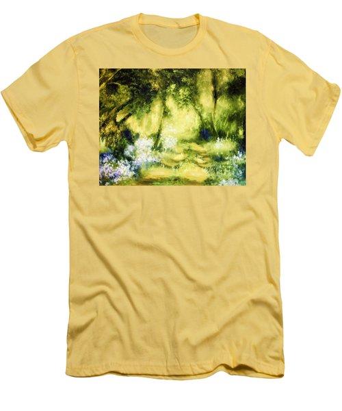 Forest Bluebells Men's T-Shirt (Athletic Fit)
