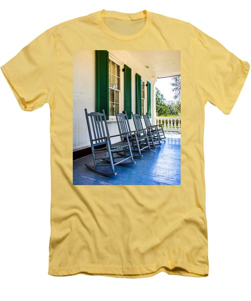 Four Porch Rockers Men's T-Shirt (Slim Fit) by Perry Webster