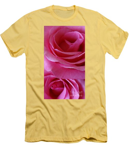 Face Of Roses 3 Men's T-Shirt (Athletic Fit)