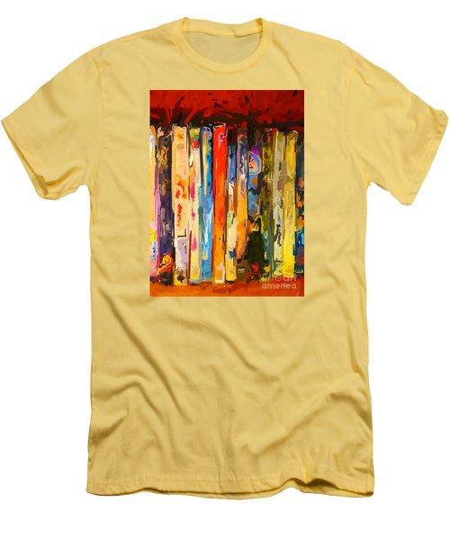 Free Your Mind Men's T-Shirt (Slim Fit) by Claudia Ellis