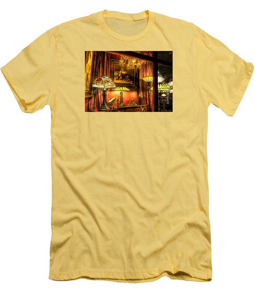 Men's T-Shirt (Slim Fit) featuring the photograph French Quarter Ambiance by Tim Stanley