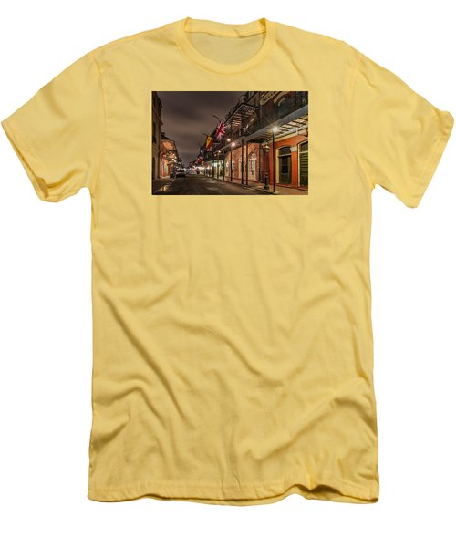 Men's T-Shirt (Slim Fit) featuring the photograph French Quarter Flags by Tim Stanley