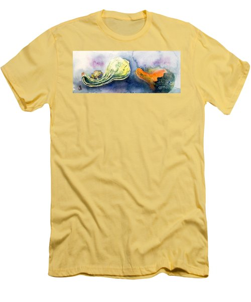 Froggy And Gourds Men's T-Shirt (Athletic Fit)