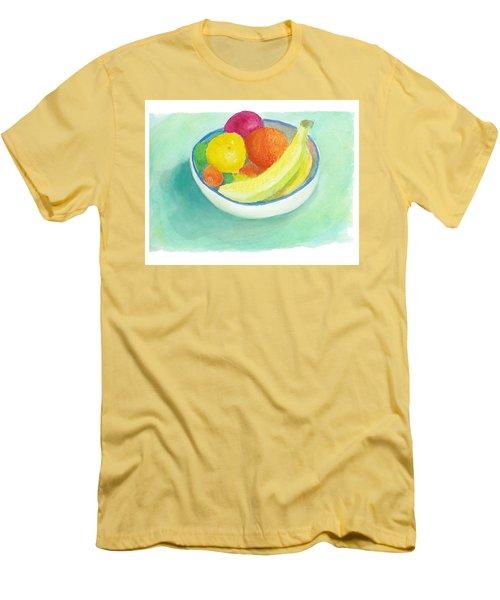 Fruit Bowl Men's T-Shirt (Slim Fit) by C Sitton