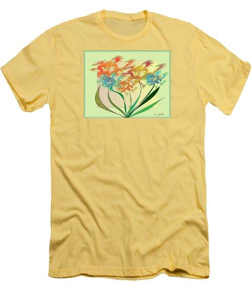 Garden Wonder Men's T-Shirt (Slim Fit) by Iris Gelbart