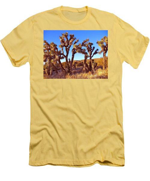 Gathering Men's T-Shirt (Slim Fit) by Gem S Visionary