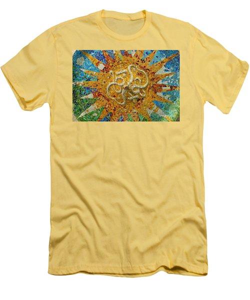 Gaudi Art Men's T-Shirt (Slim Fit) by Mariusz Czajkowski