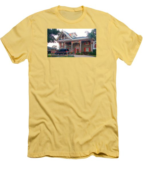 Gingerbread House - Metairie La Men's T-Shirt (Athletic Fit)