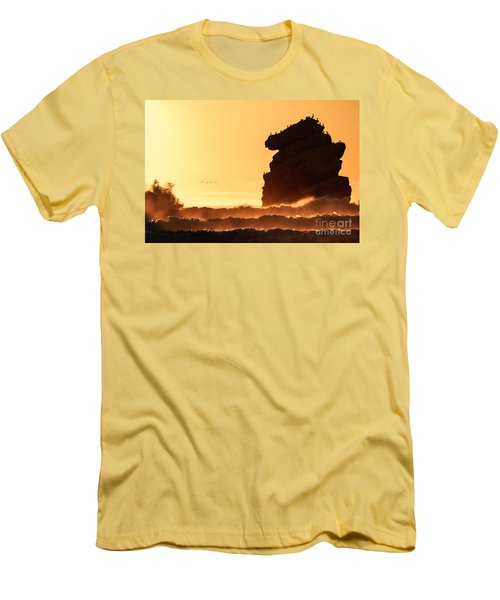 Glorious Afternoon At Morro Bay Men's T-Shirt (Athletic Fit)