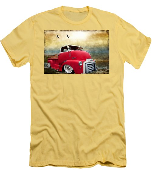 Gmc 350 Men's T-Shirt (Slim Fit) by Liane Wright