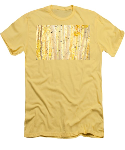 Golden Aspens Utah Men's T-Shirt (Athletic Fit)