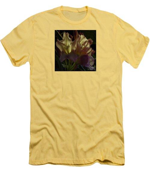 Golden Reserve Men's T-Shirt (Slim Fit) by Jean OKeeffe Macro Abundance Art