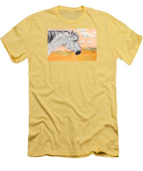 Golden Sky Men's T-Shirt (Slim Fit) by Jeanne Fischer