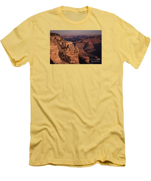 Men's T-Shirt (Slim Fit) featuring the photograph Grand Canyon Sunrise by Liz Leyden
