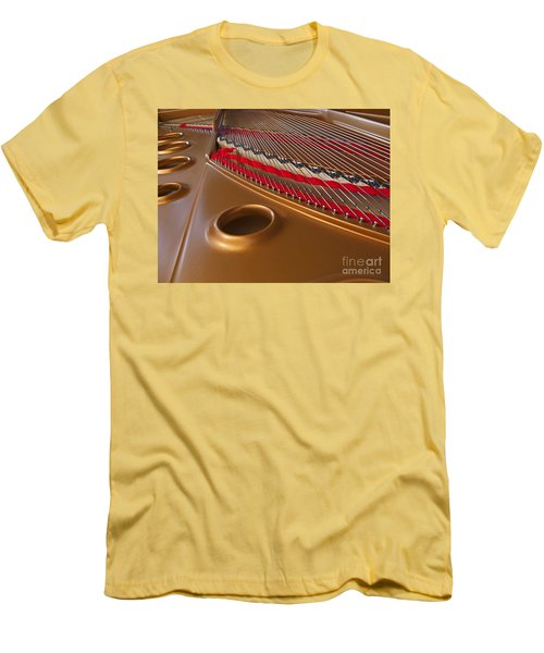 Grand Piano Men's T-Shirt (Athletic Fit)