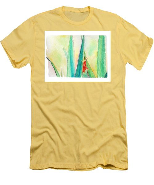 Grasshopper Men's T-Shirt (Slim Fit) by C Sitton