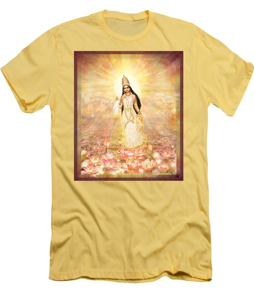 Great Mother Goddess In A Higher Dimension Men's T-Shirt (Athletic Fit)