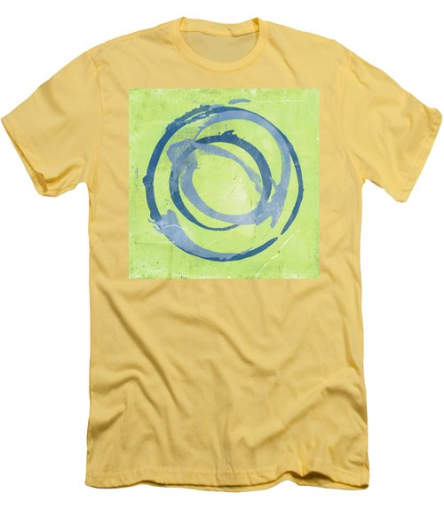 Green Blue Men's T-Shirt (Slim Fit)