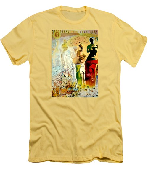 Halucinogenic Toreador By Salvador Dali Men's T-Shirt (Athletic Fit)