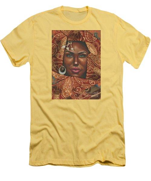 Hazel Eyes Men's T-Shirt (Slim Fit)