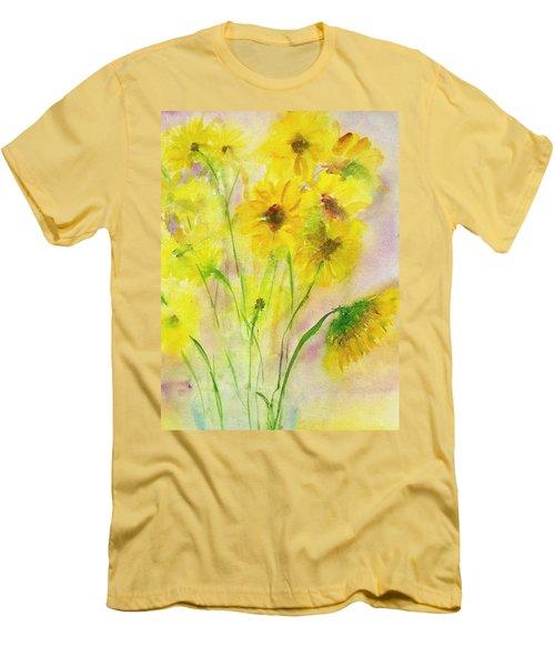 Hazy Summer Men's T-Shirt (Slim Fit)