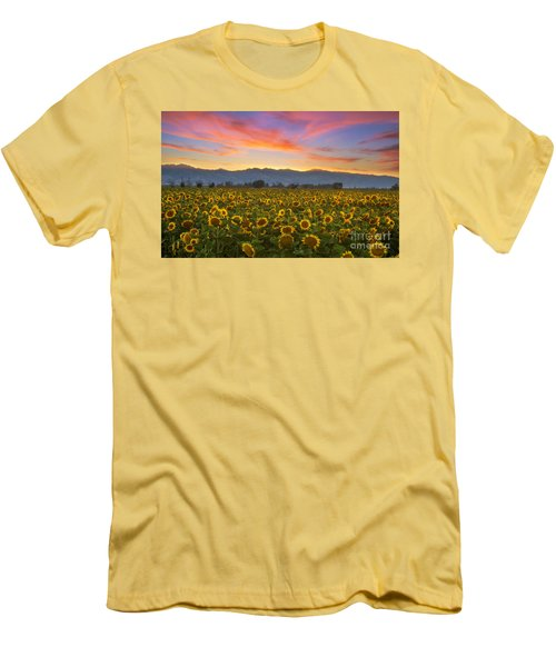 Men's T-Shirt (Slim Fit) featuring the photograph Heaven by Rima Biswas
