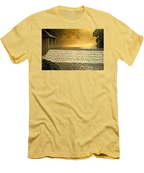 Heaven's Rays Men's T-Shirt (Athletic Fit)