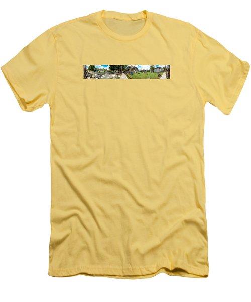 Heidelberg Panorama Men's T-Shirt (Athletic Fit)
